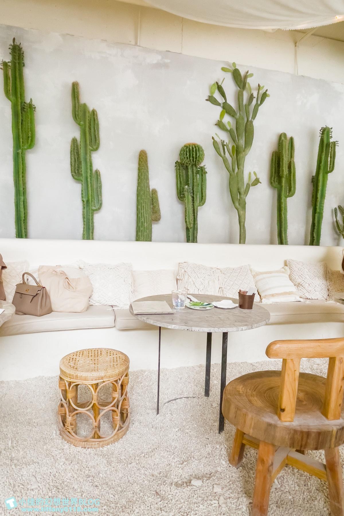 [台北美食]Gumgum Green Garden Good 101花園店/沙灘仙人掌峇里島風格直接搬進餐廳裡/台北網美餐廳推薦